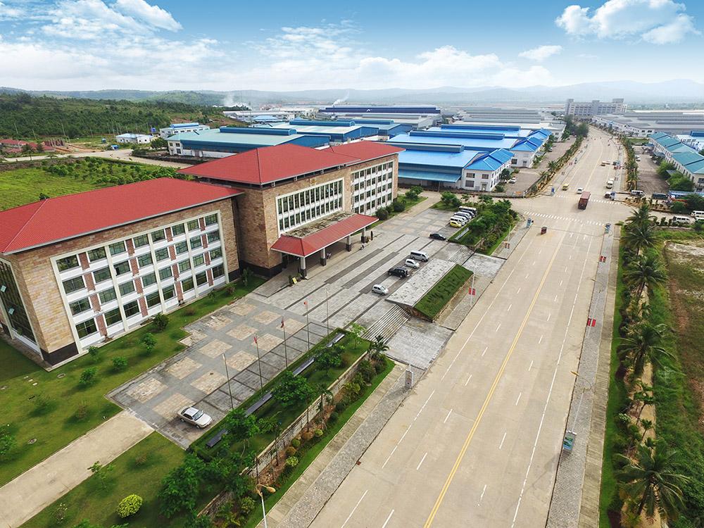西哈努克港经济特区鸟瞰