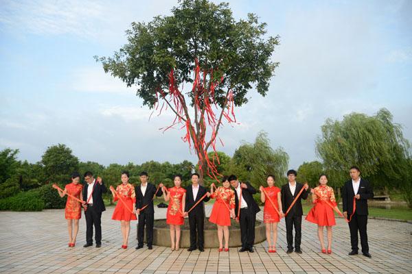 红豆树下的婚礼